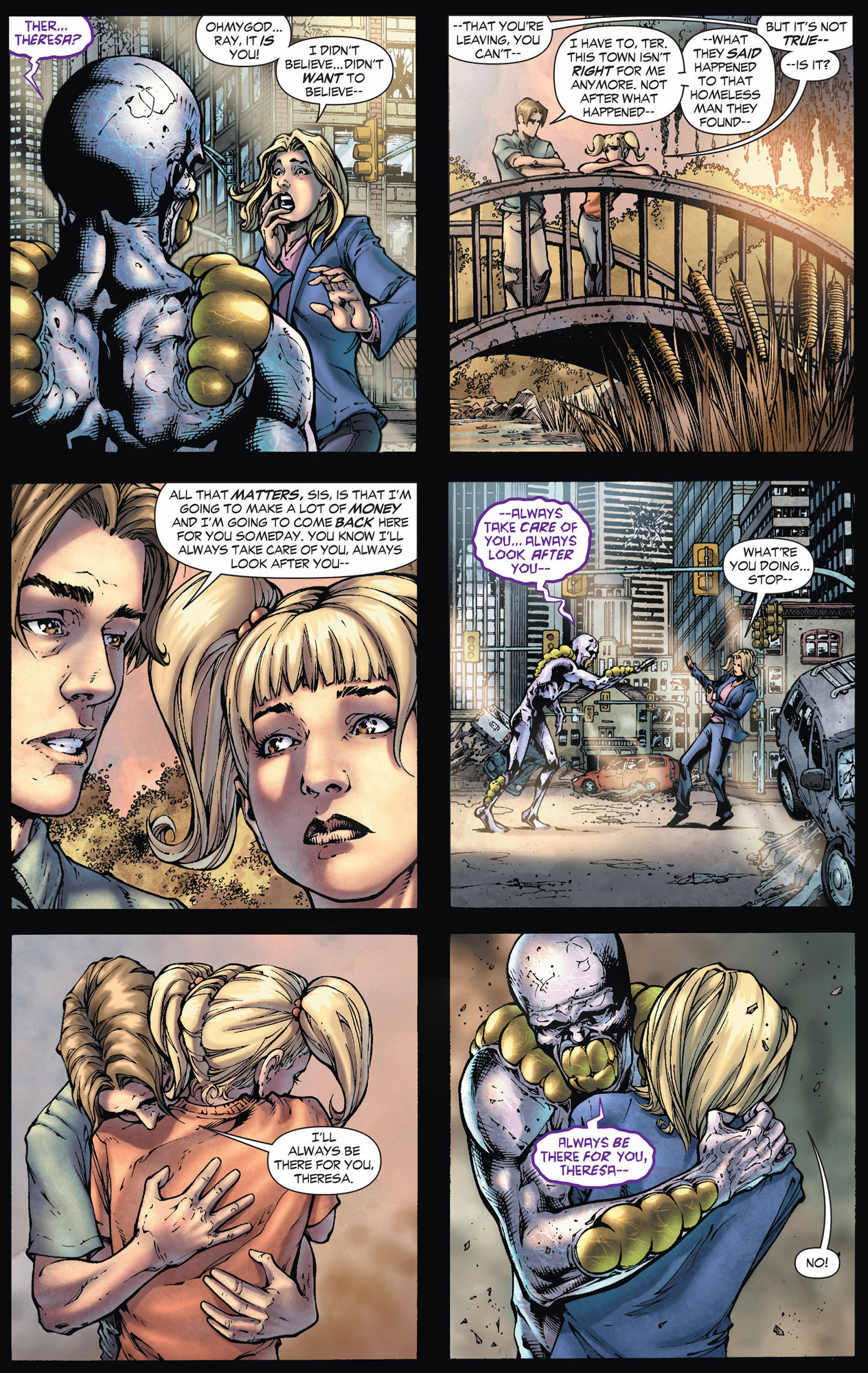 the parasite accidentally kills his sister (earth 1)