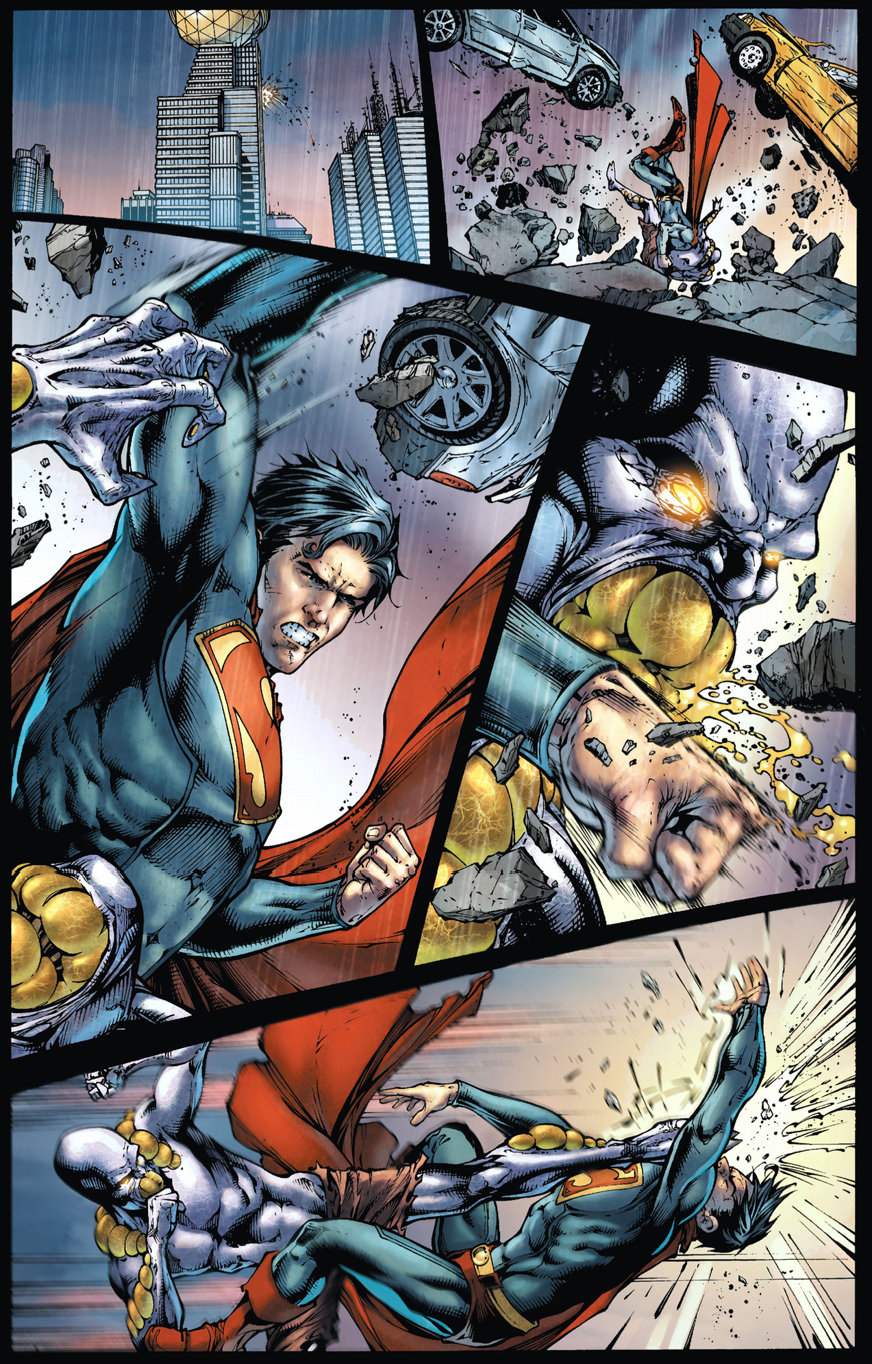 The Parasite Completely Drains Superman (Earth 1)