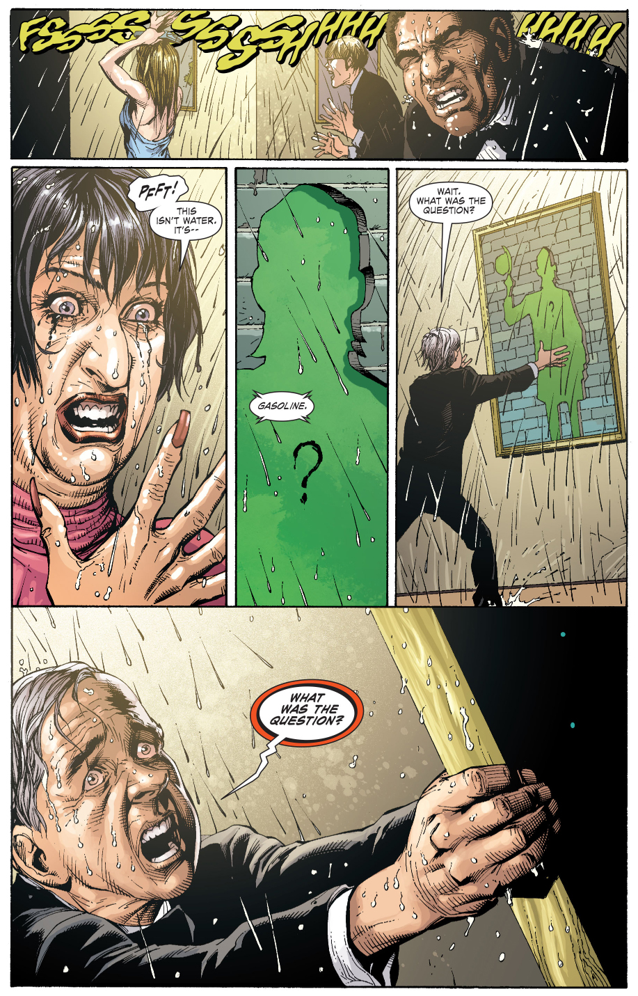 the riddler's second riddle (earth one)
