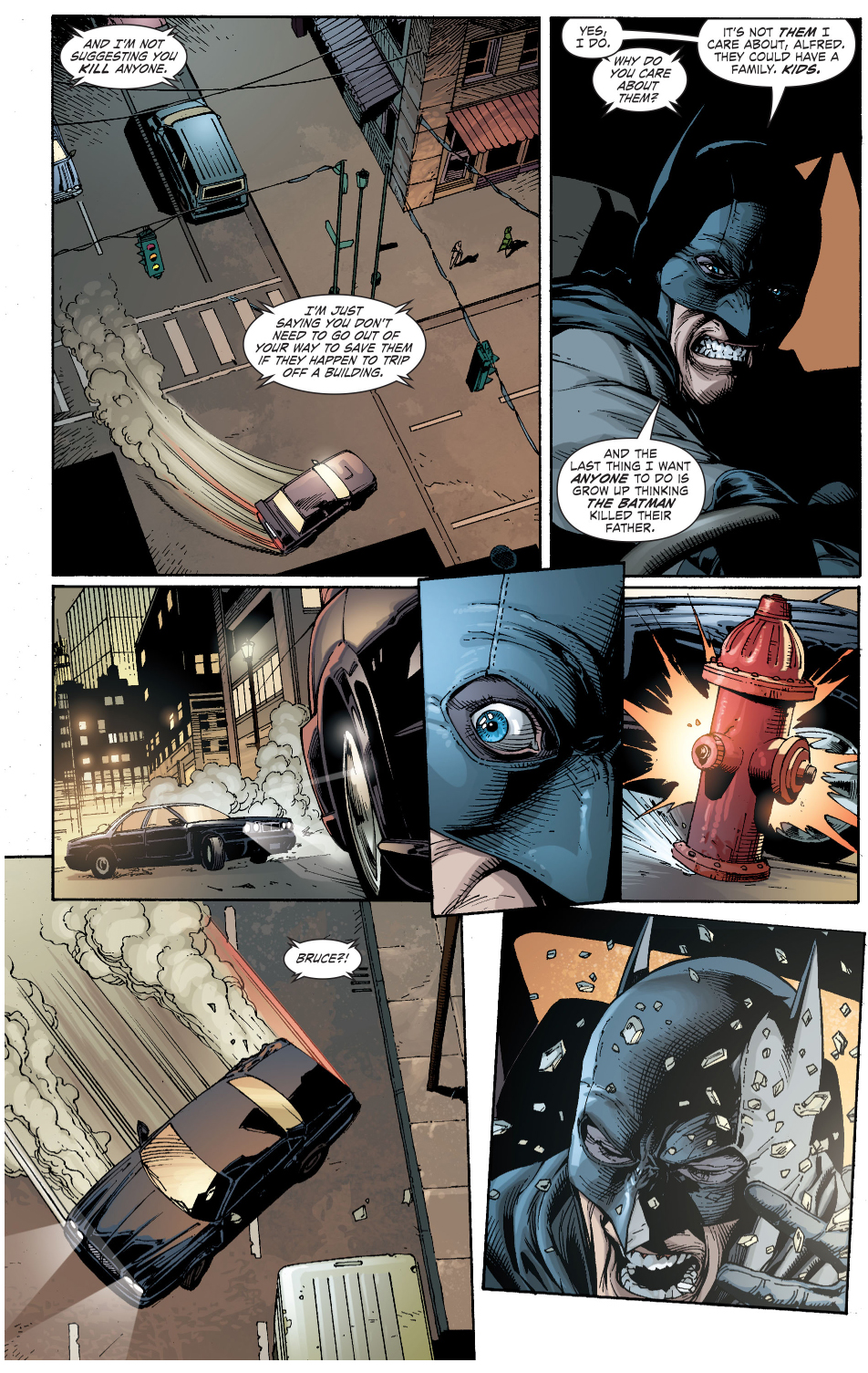 why batman doesn't kill (earth 1)