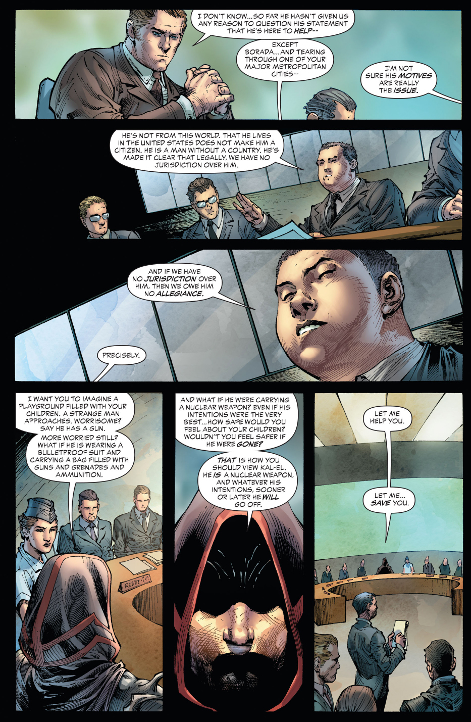 zod meets with the united nations