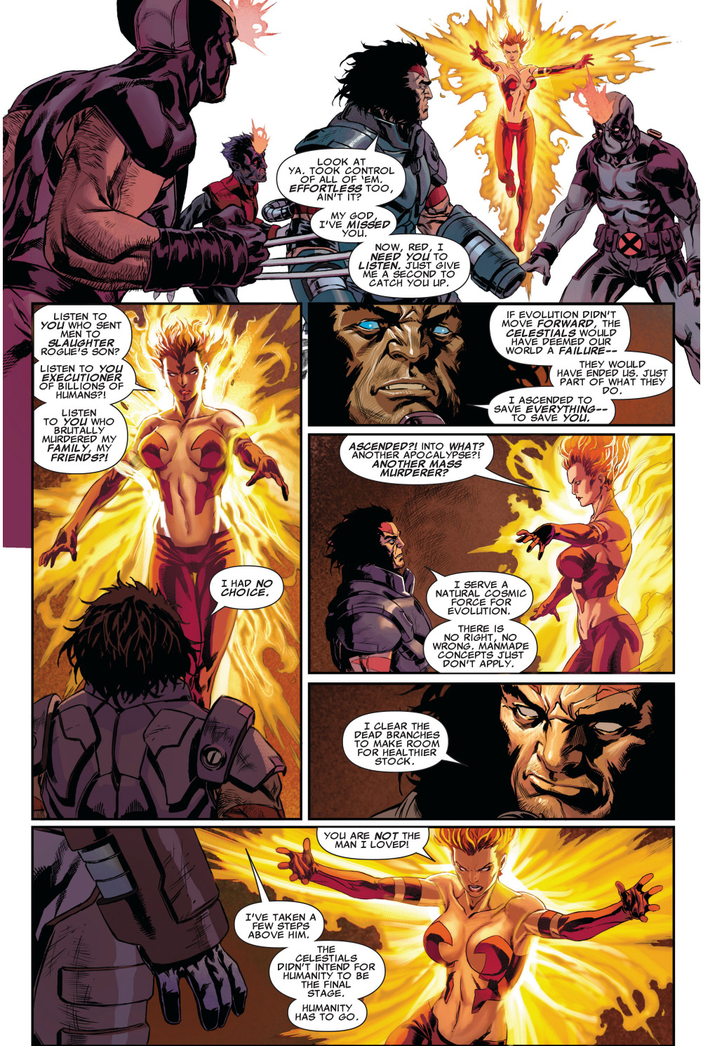 age of apocalypse wolverine's reason for becoming apocalypse