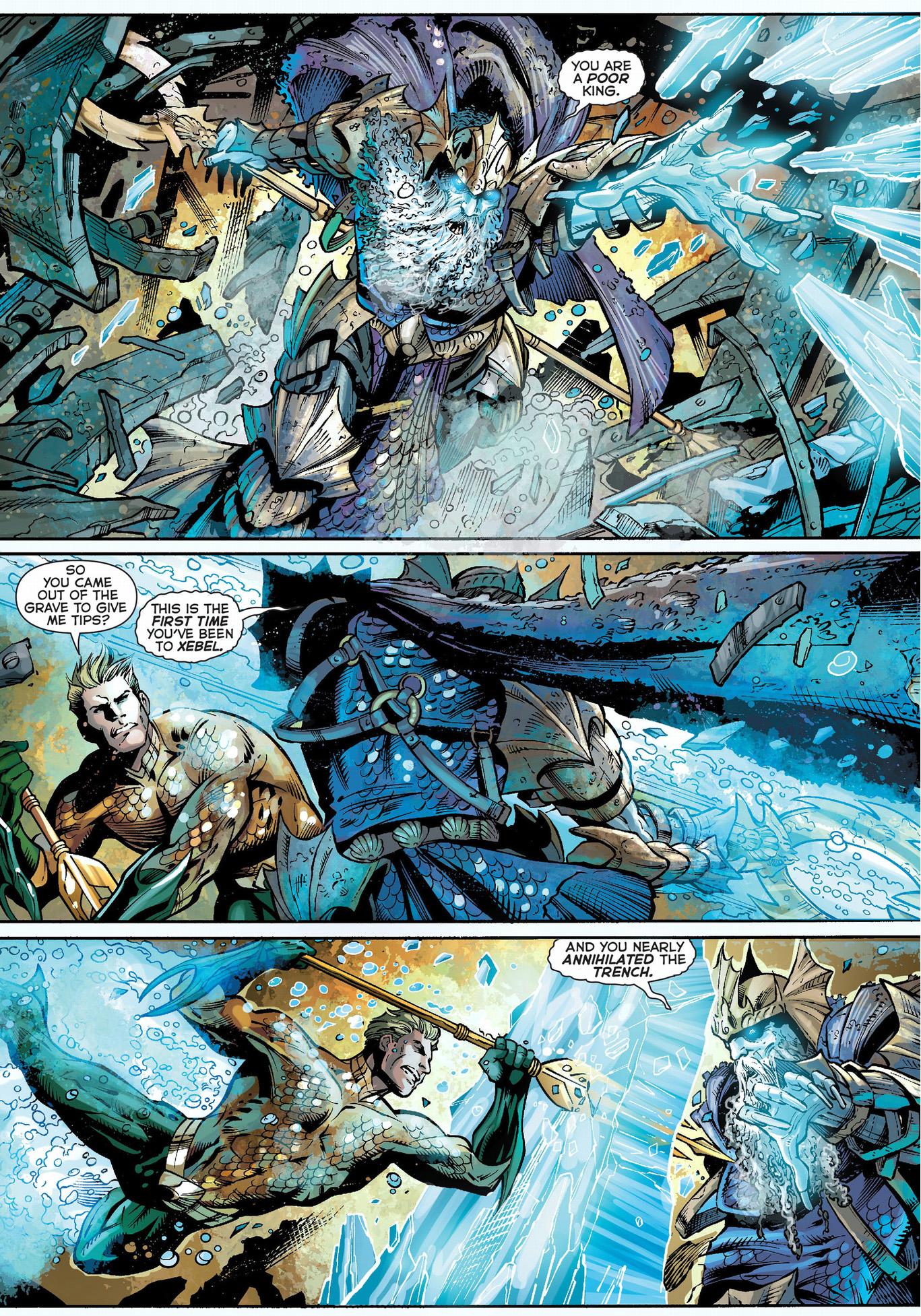 aquaman and mera vs the dead king