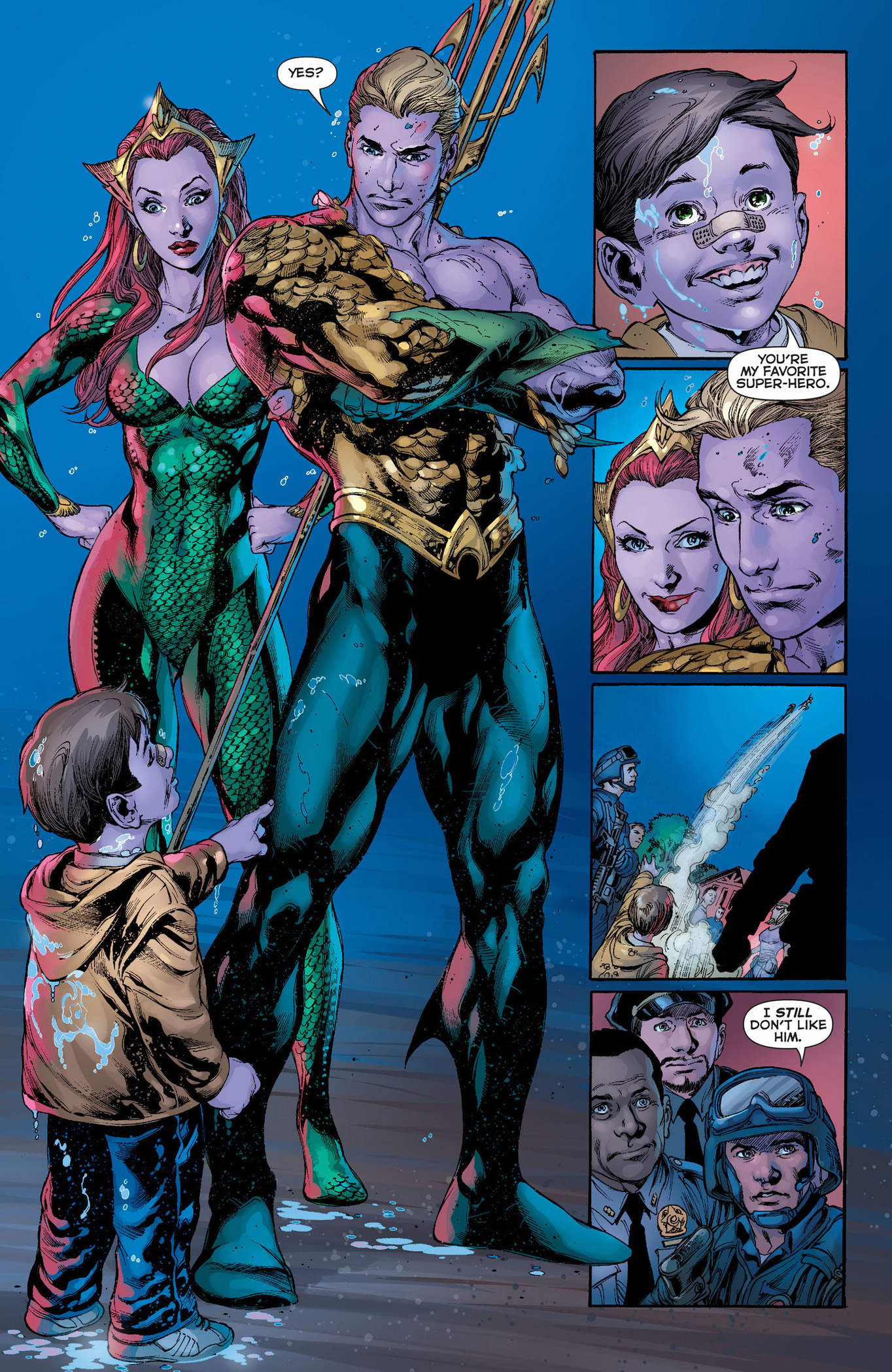 aquaman gets a fan
