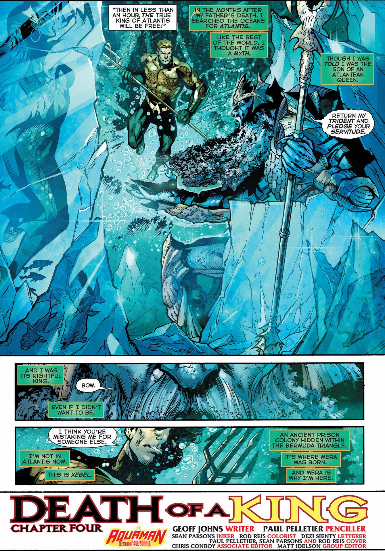 aquaman meets the dead king