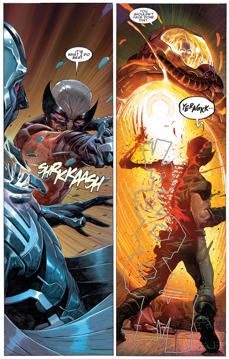 archangel and his final horsemen vs x-force