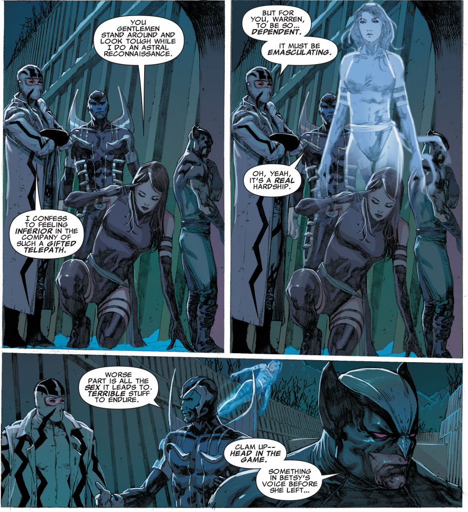 archangel doesn't mind being emasculated