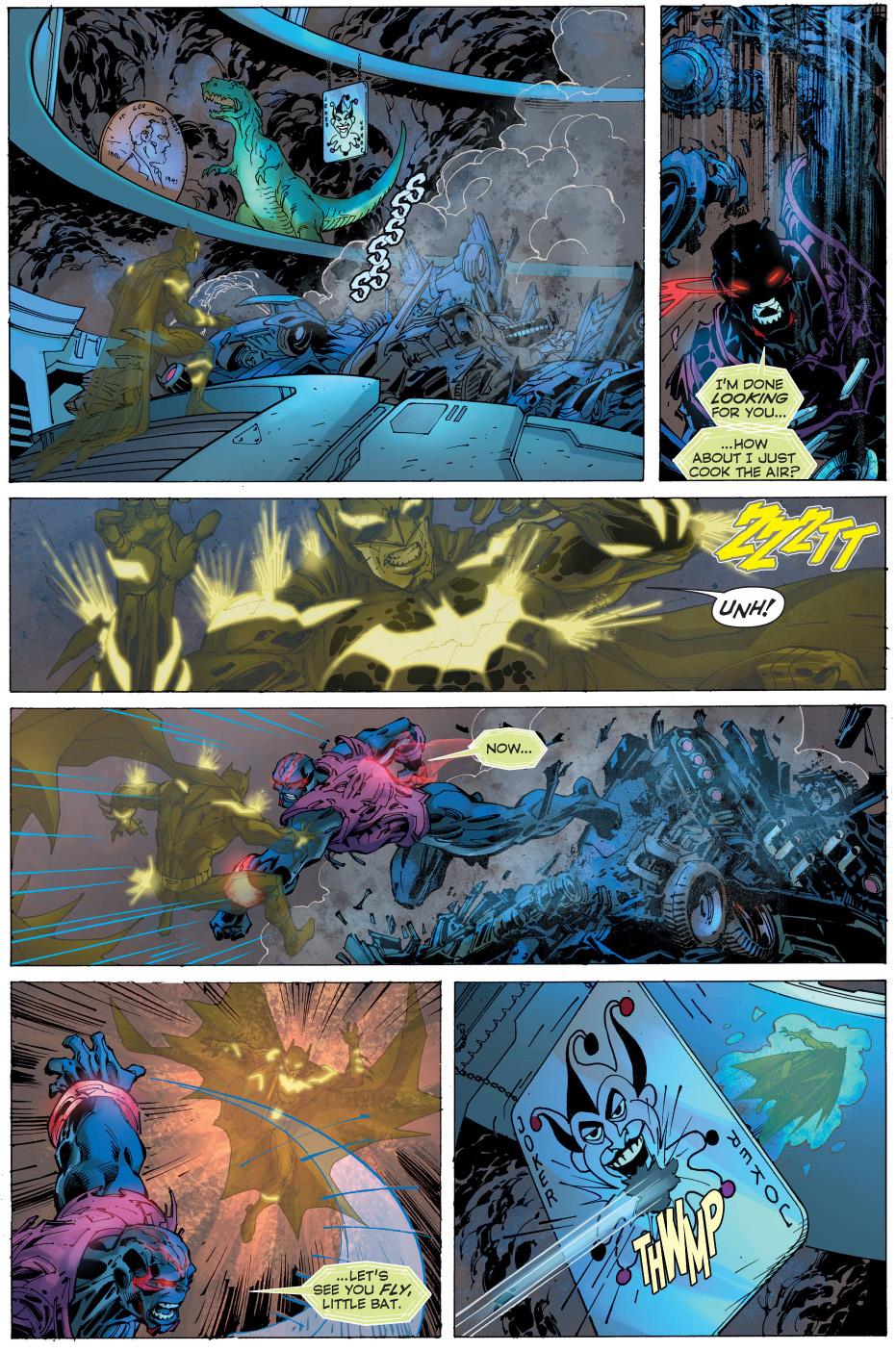 batman vs wraith