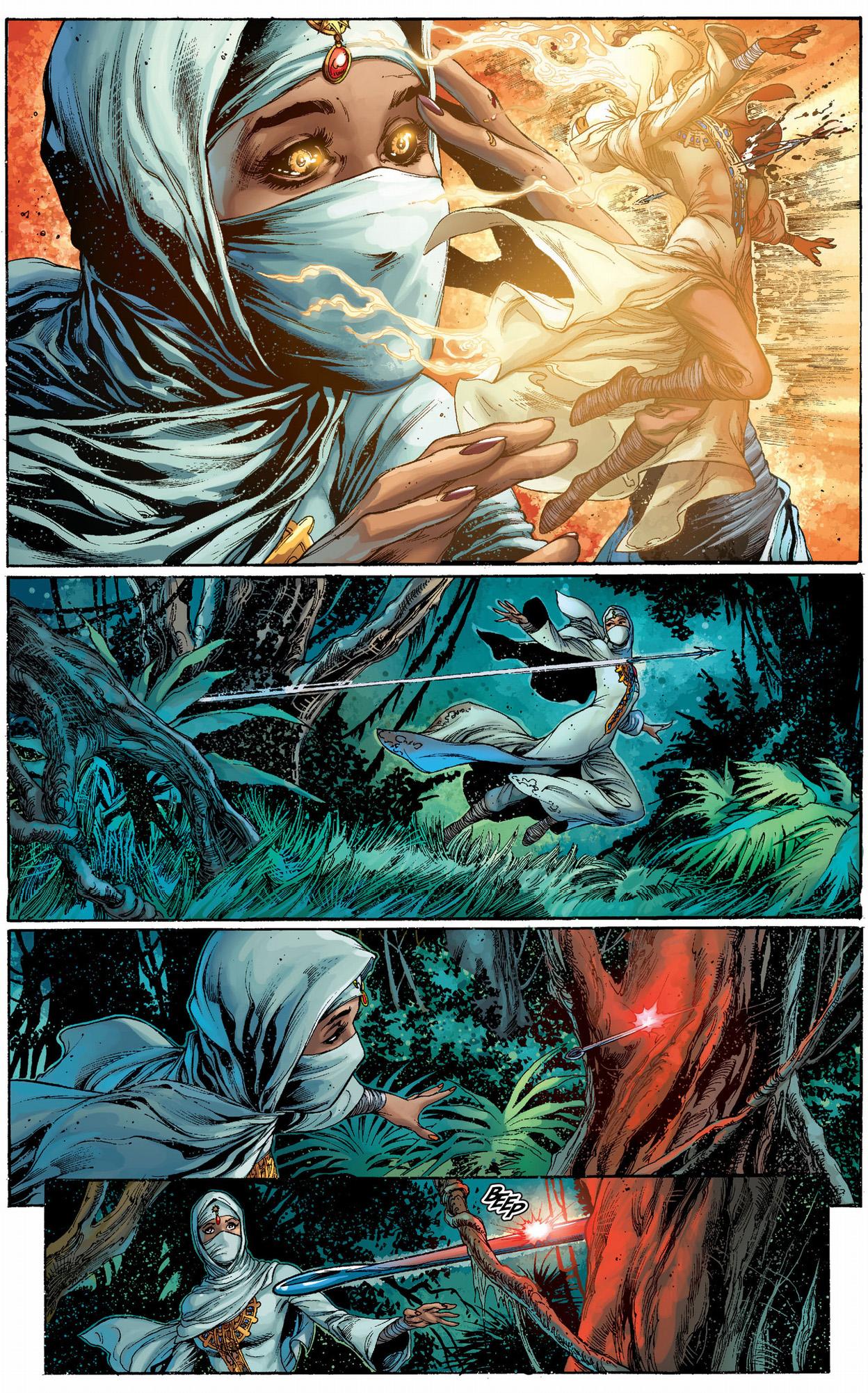 black manta tracks down the kahina seer
