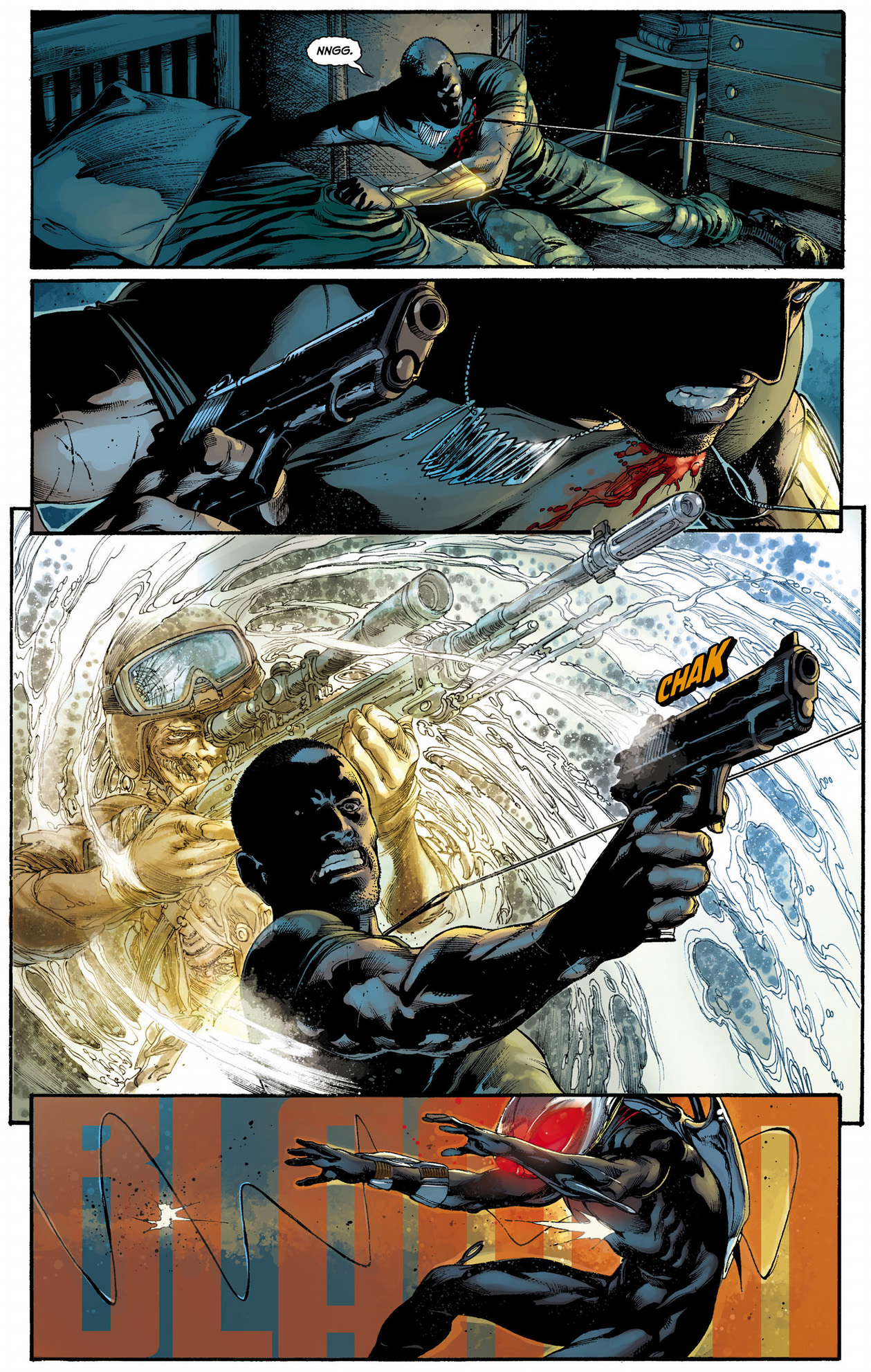 black manta vs prisoner-of-war
