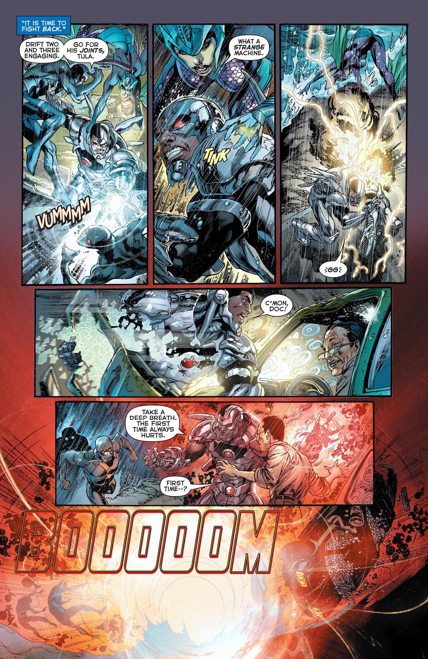 cyborg vs the drifts