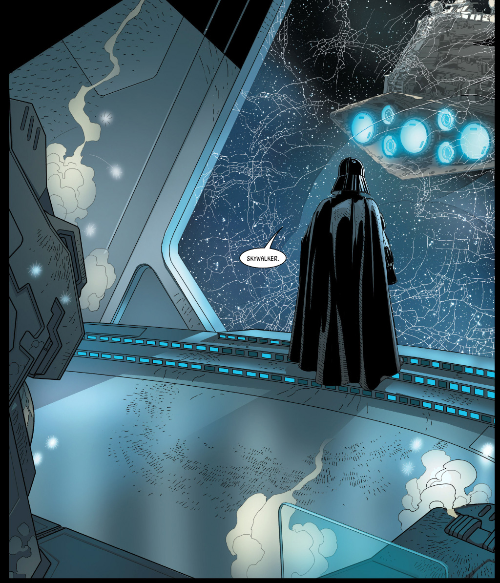 darth vader learns luke is his son