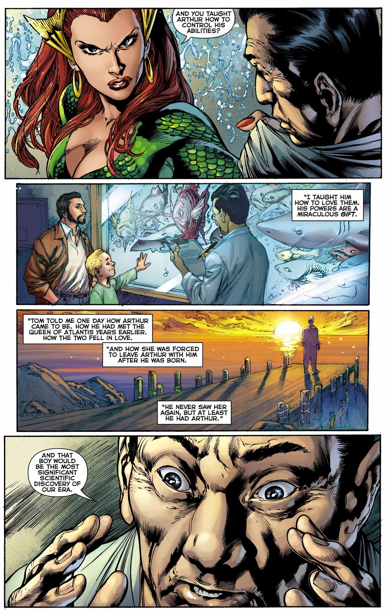 doctor shin's history with aquaman