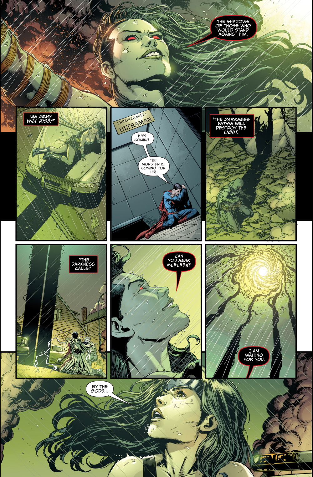 grail summons the anti-monitor to prime earth