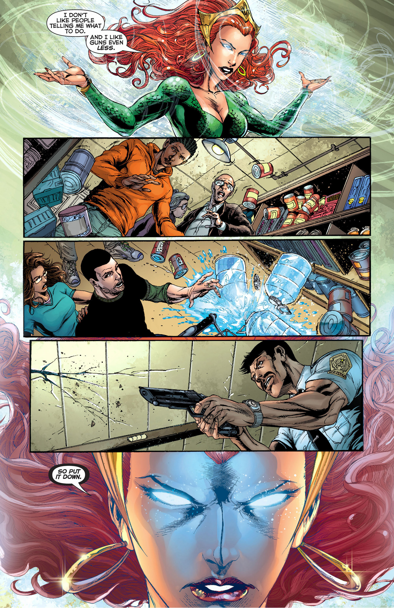 how mera deals with perverts