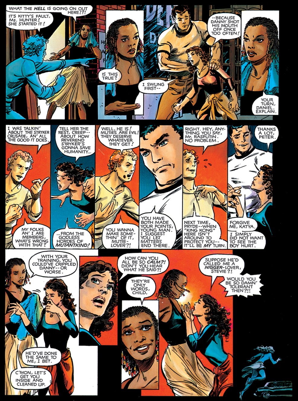 kitty pryde hates the word mutie-lover