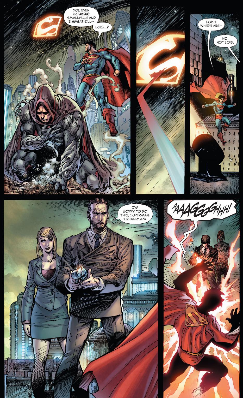 lex luthor depowers superman (earth1 )