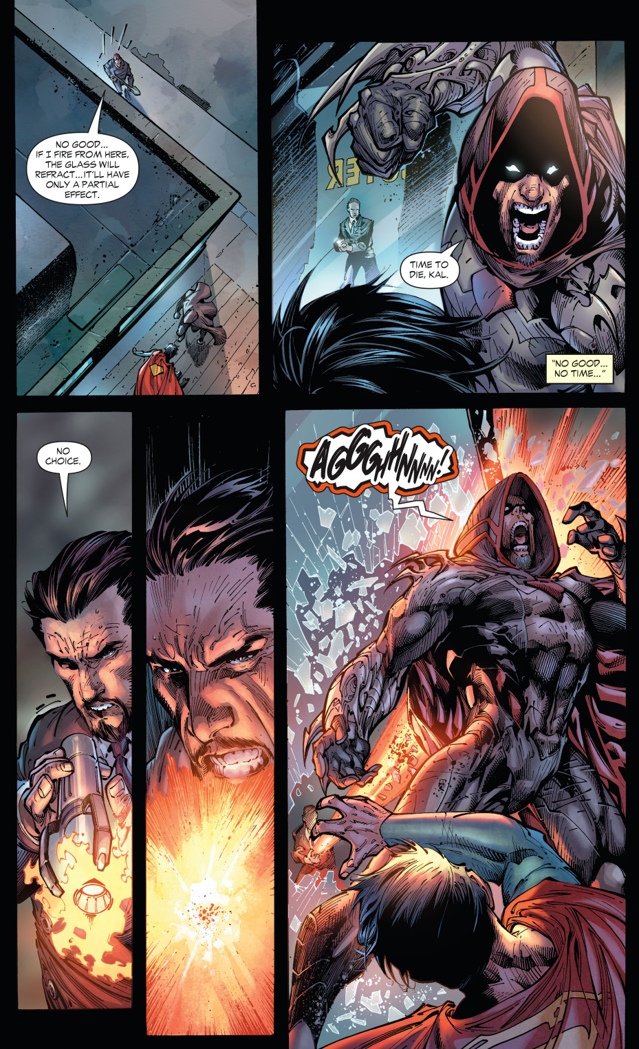 lex luthor depowers zod (earth 1)