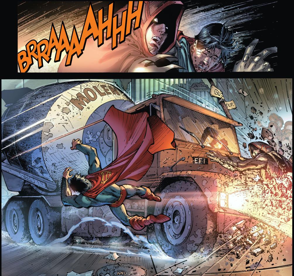 lisa lasalle saves superman