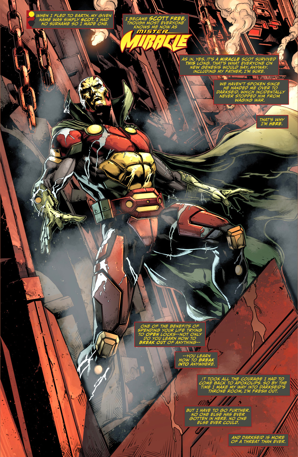 mister miracle (justice league)