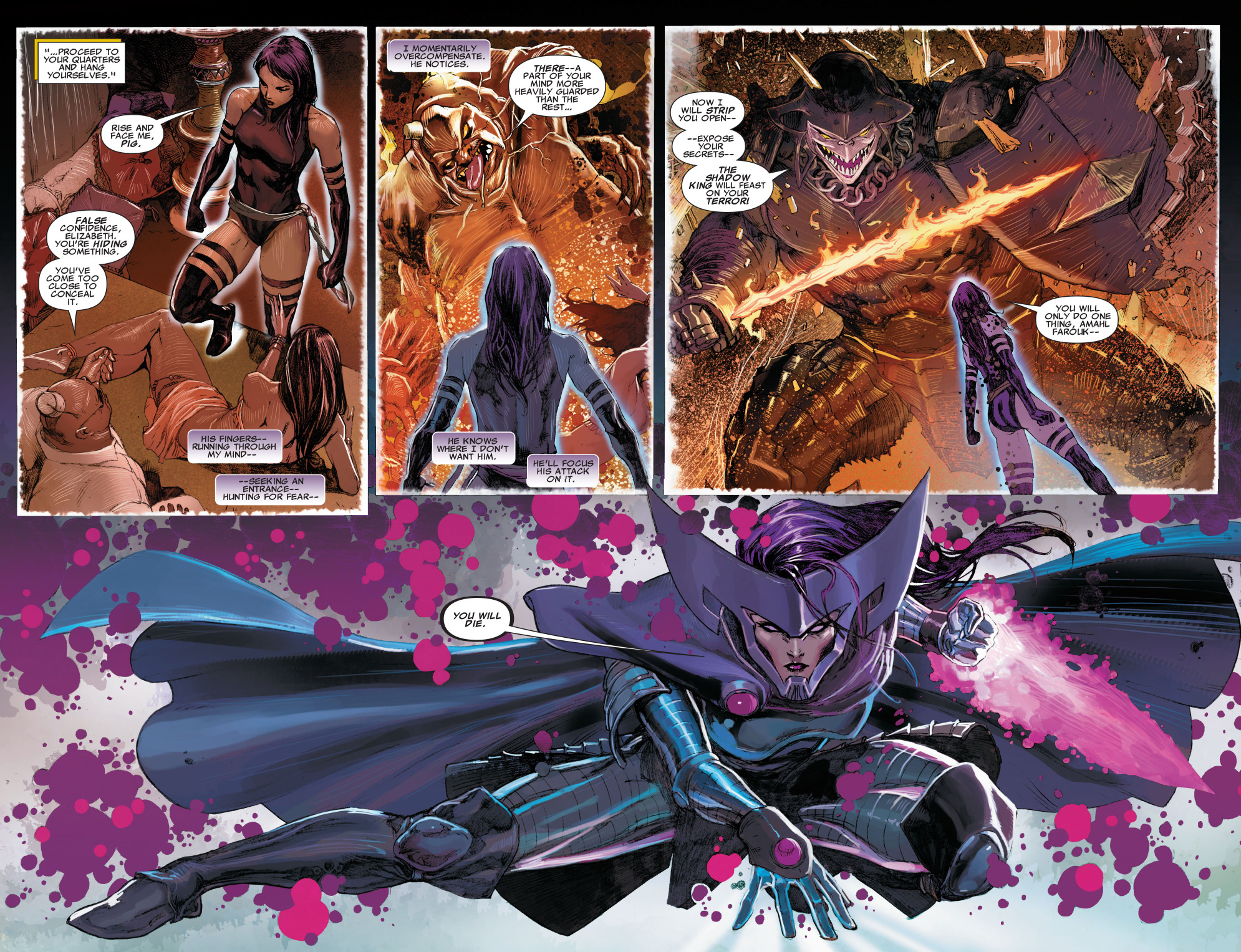 psylocke vs the shadow king