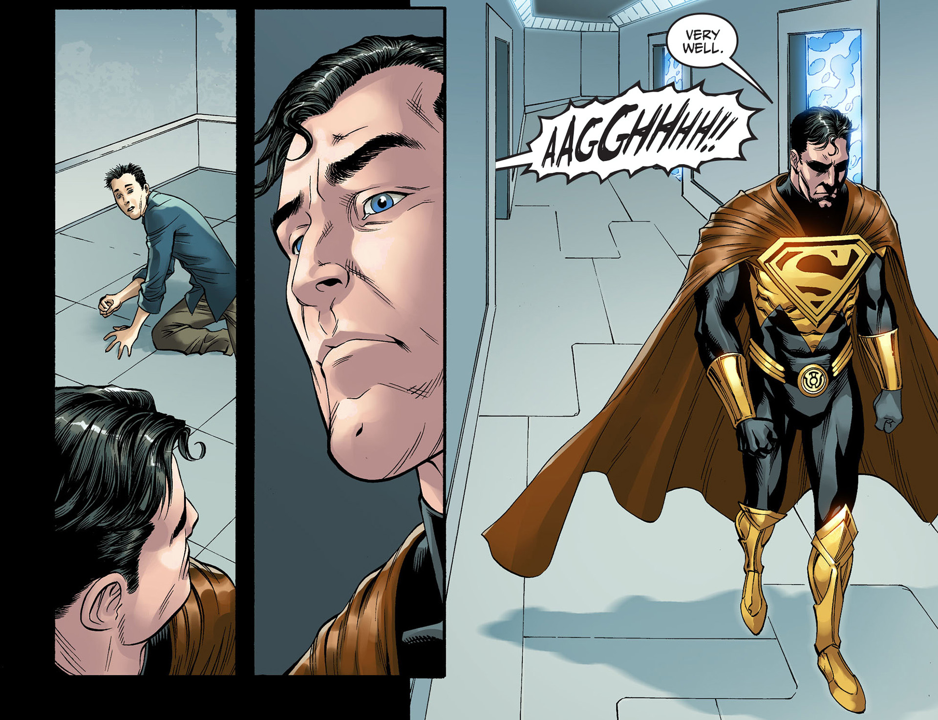 superman approves of torture