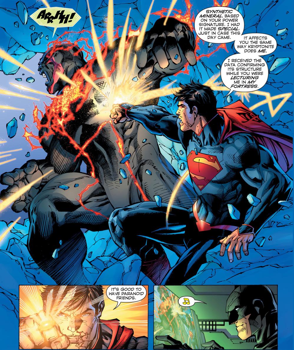superman learns paranoia from batman