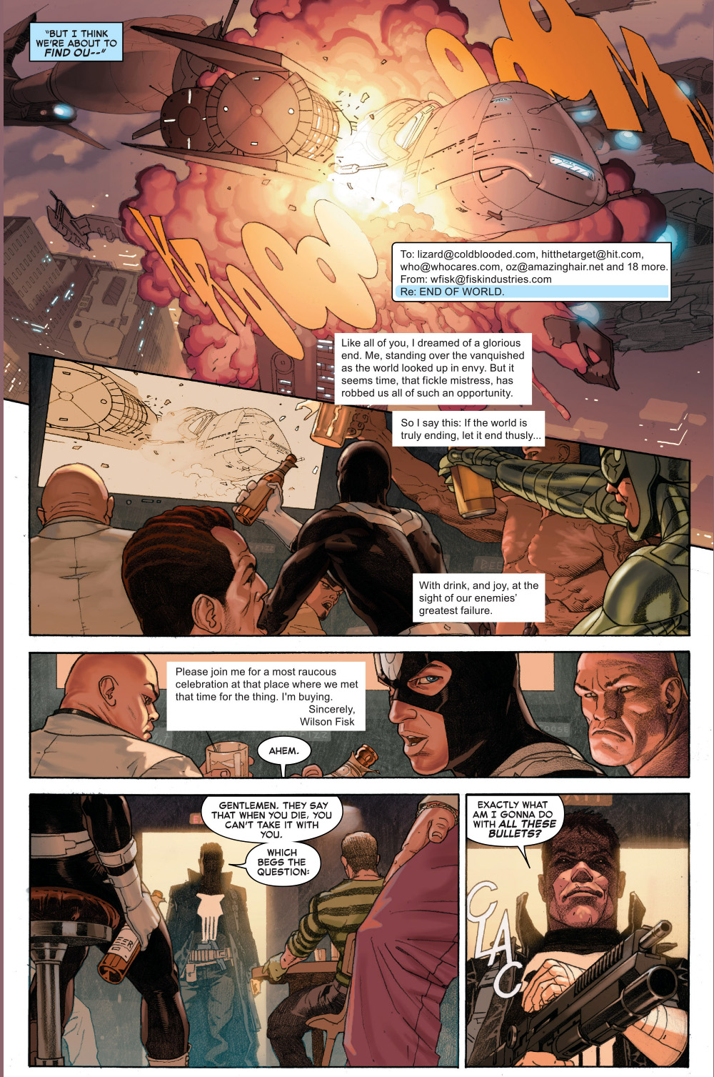 what the punisher did before the end of the world