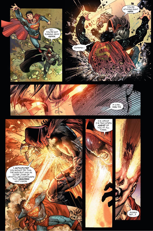 zod ambushes superman with kryptonite