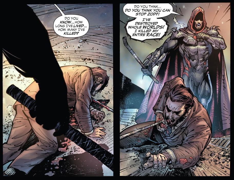 zod kills lex luthor (earth 1)