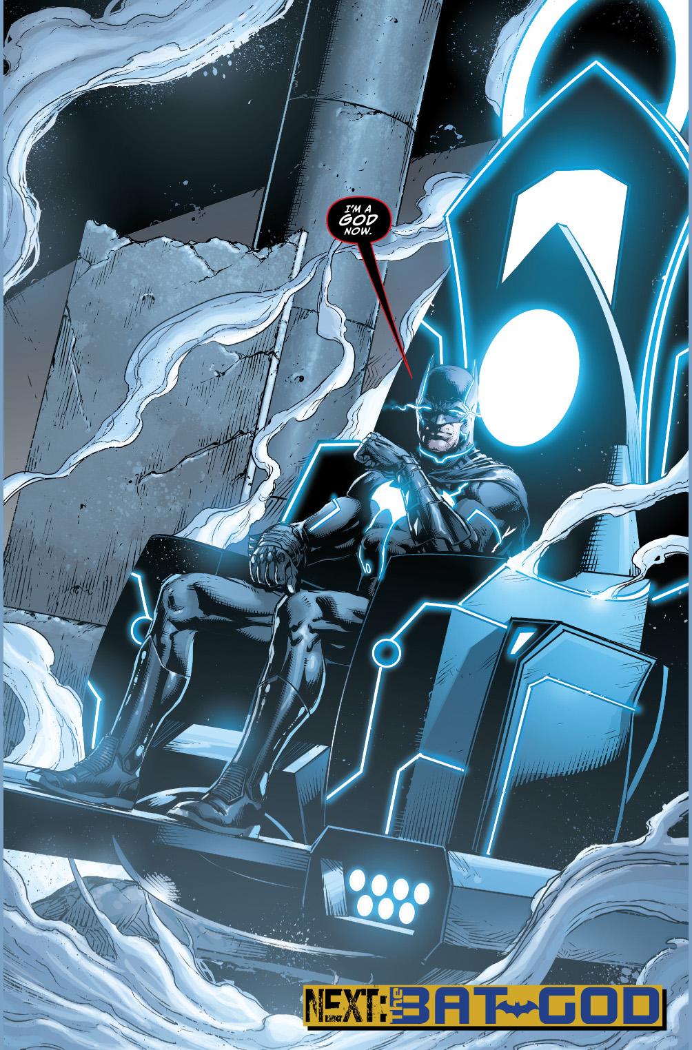 batman becomes a god