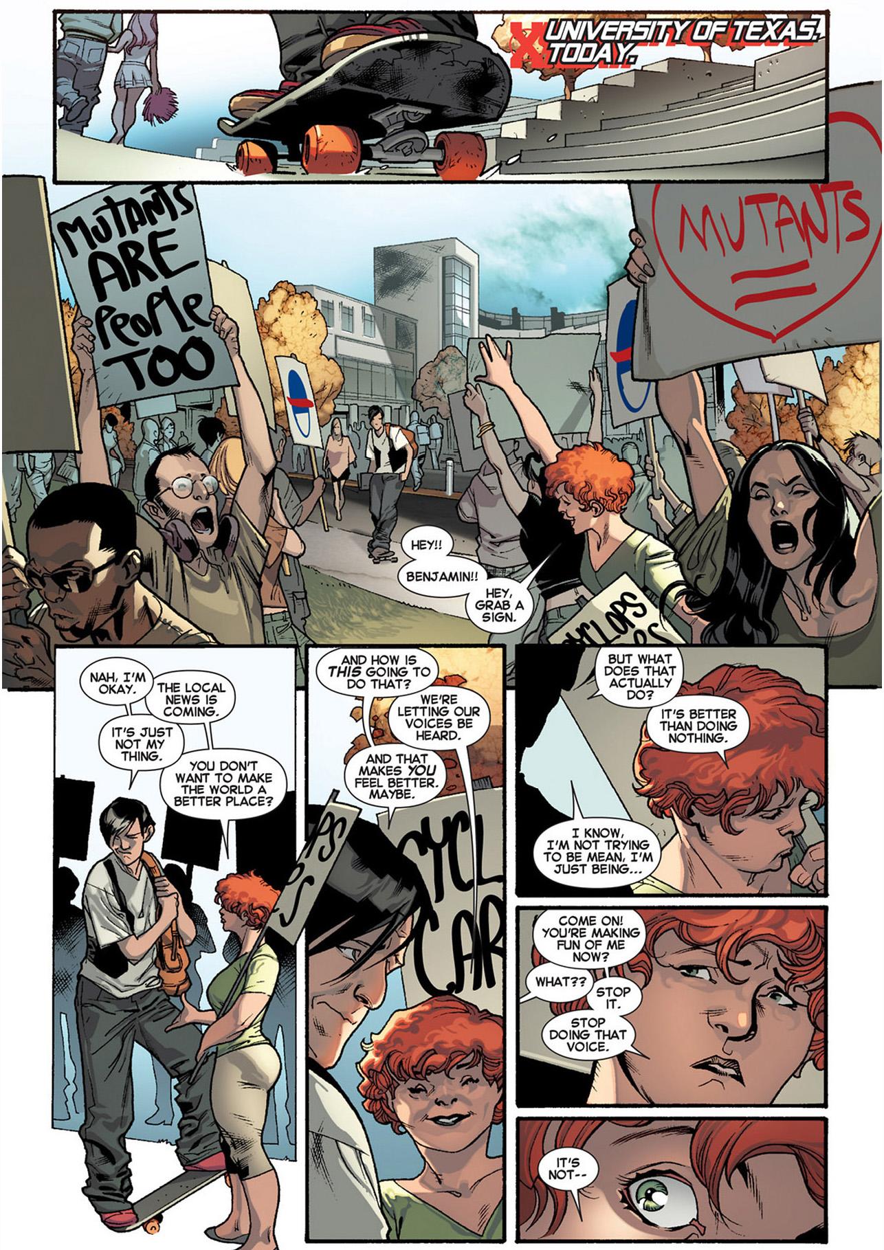 Benjamin Deeds's Mutant Powers Emerges