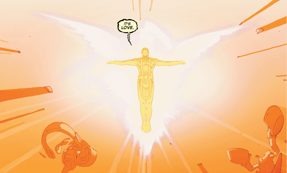 cyclops becomes the phoenix