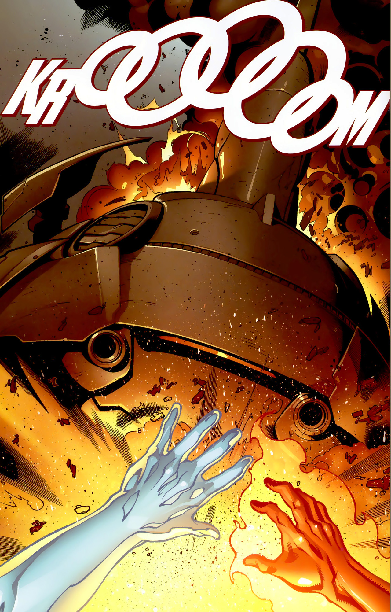 deadpool takes down a skrull ship