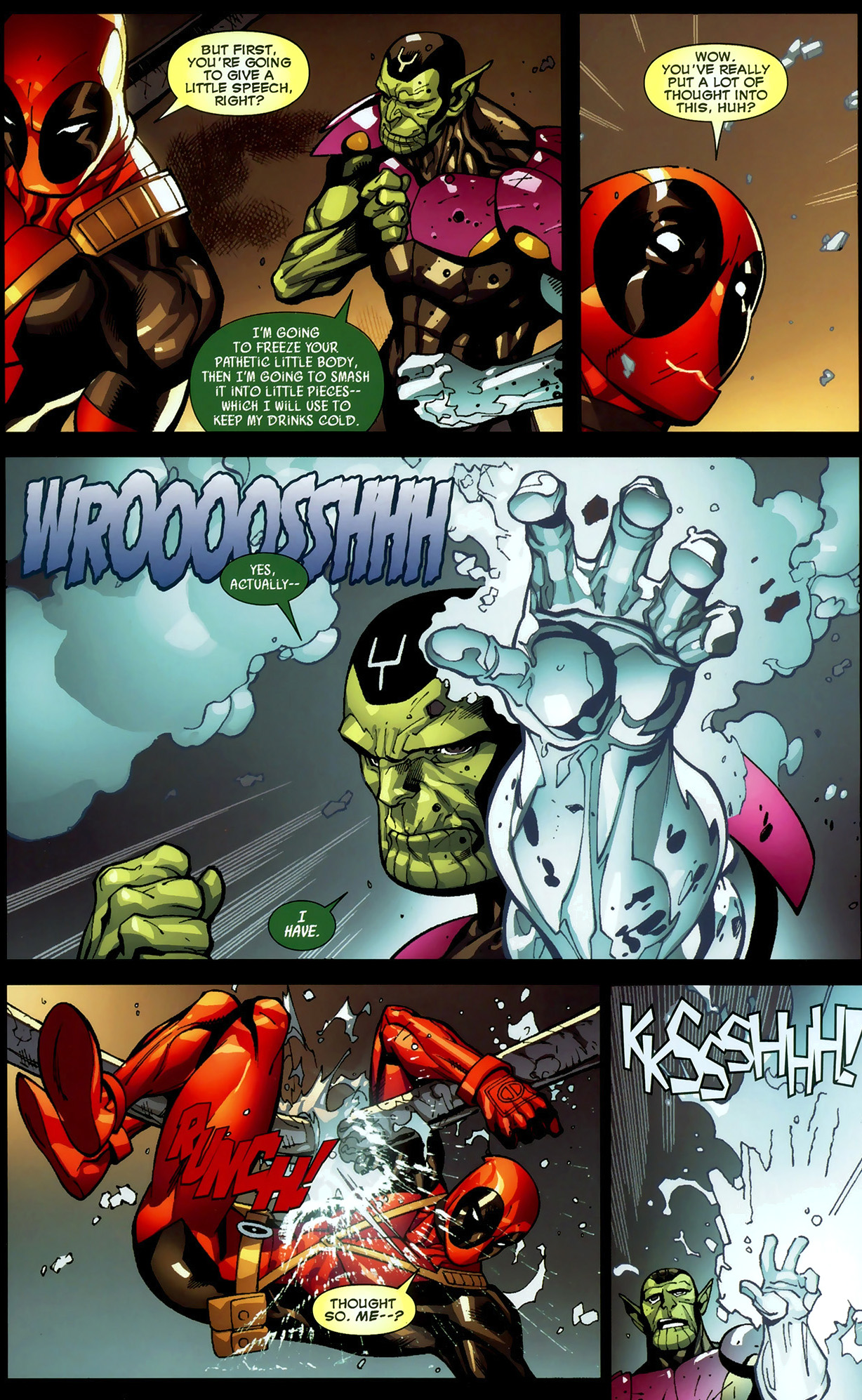 Deadpool VS Chilly McHotpants