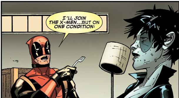 deadpool's x-men costume