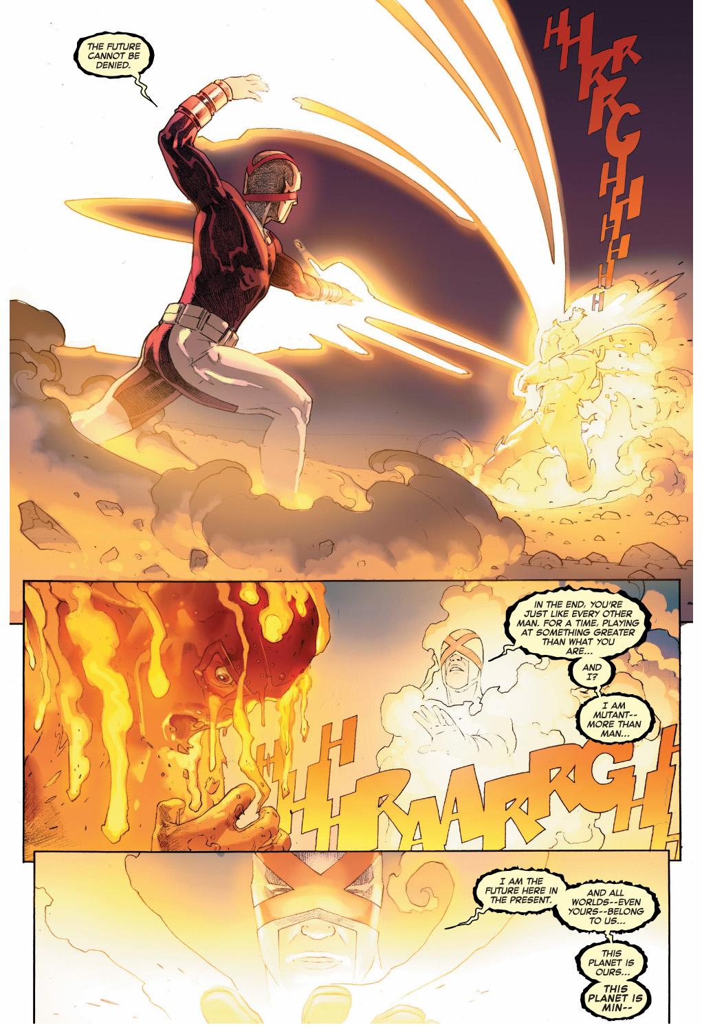 doctor doom kills cyclops