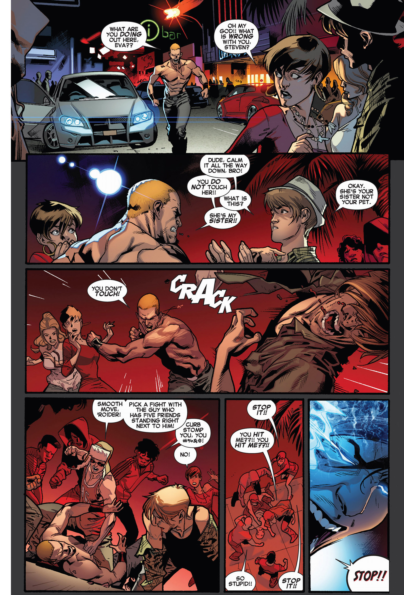 eva bell's mutant powers emerges