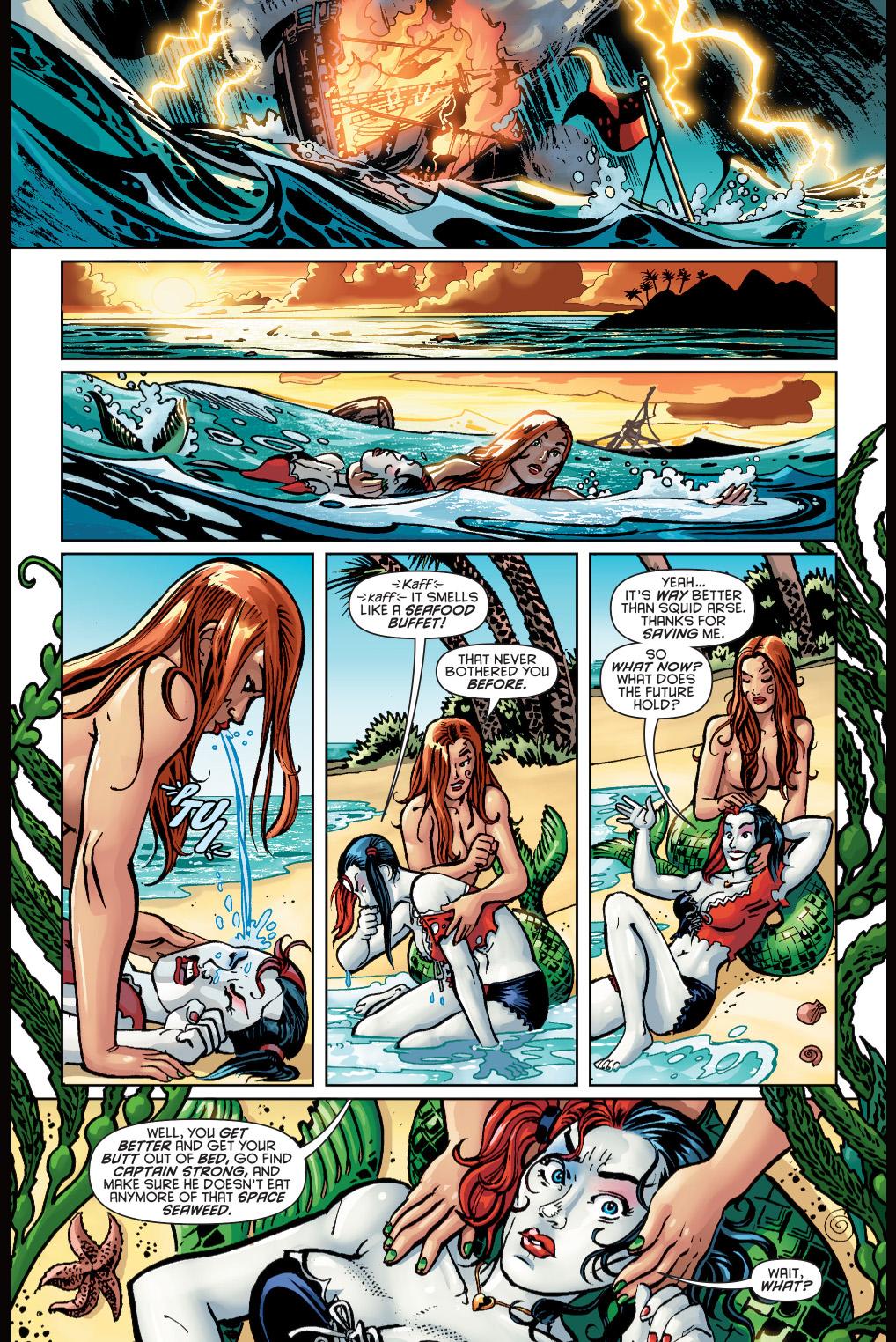 harley quinn's pirate dream