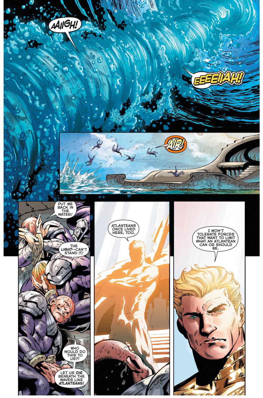 how aquaman dealt with atlantean rebels