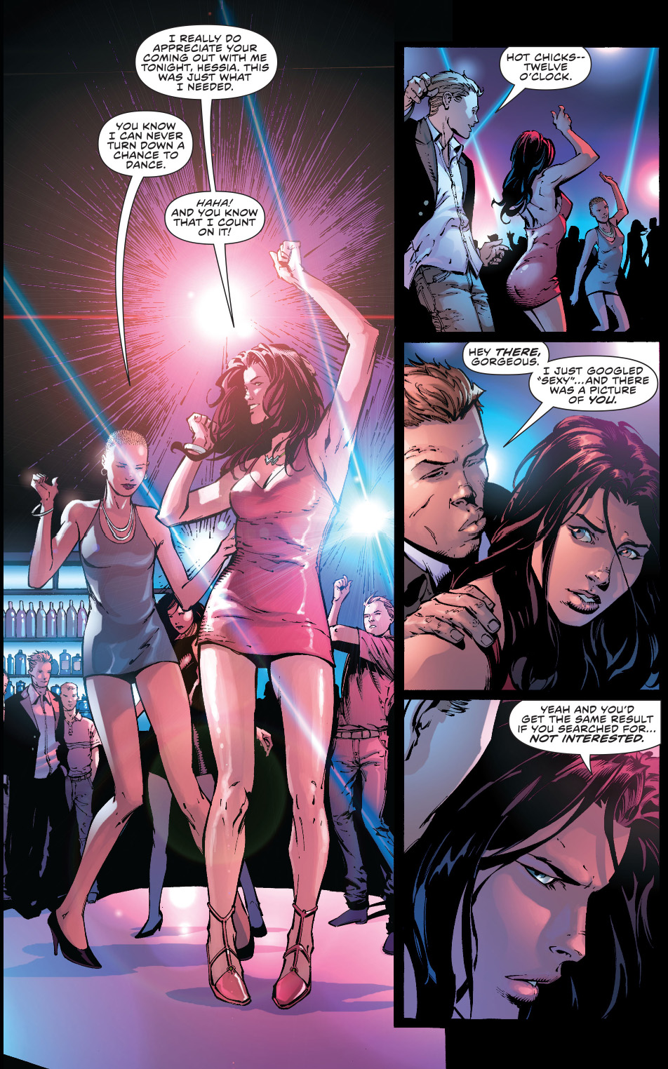 how wonder woman deals with gropers