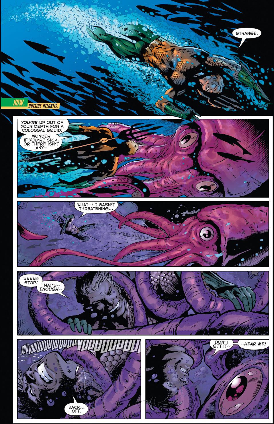 the chimera commands sea creatures