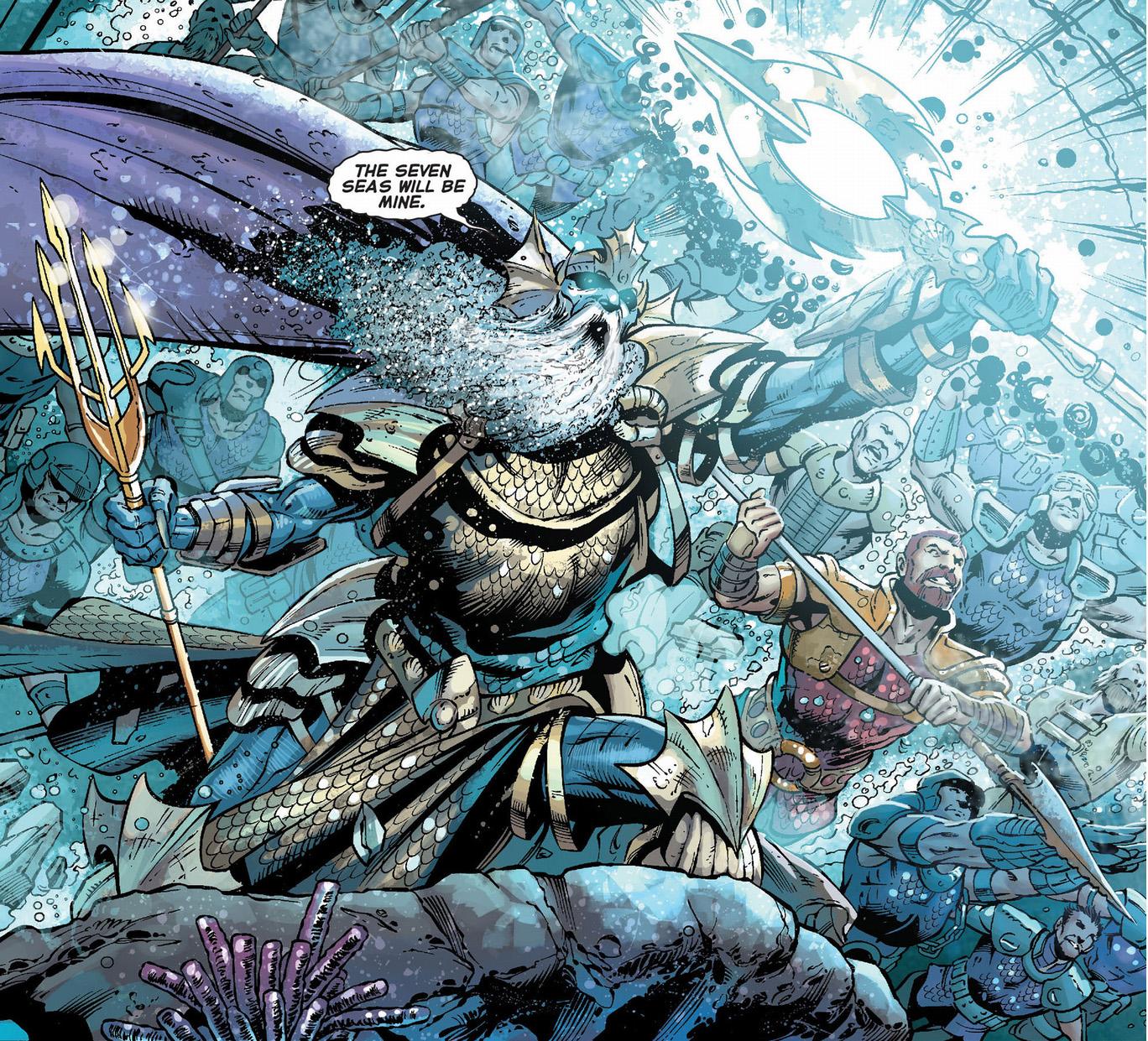 the dead king (aquaman 23)