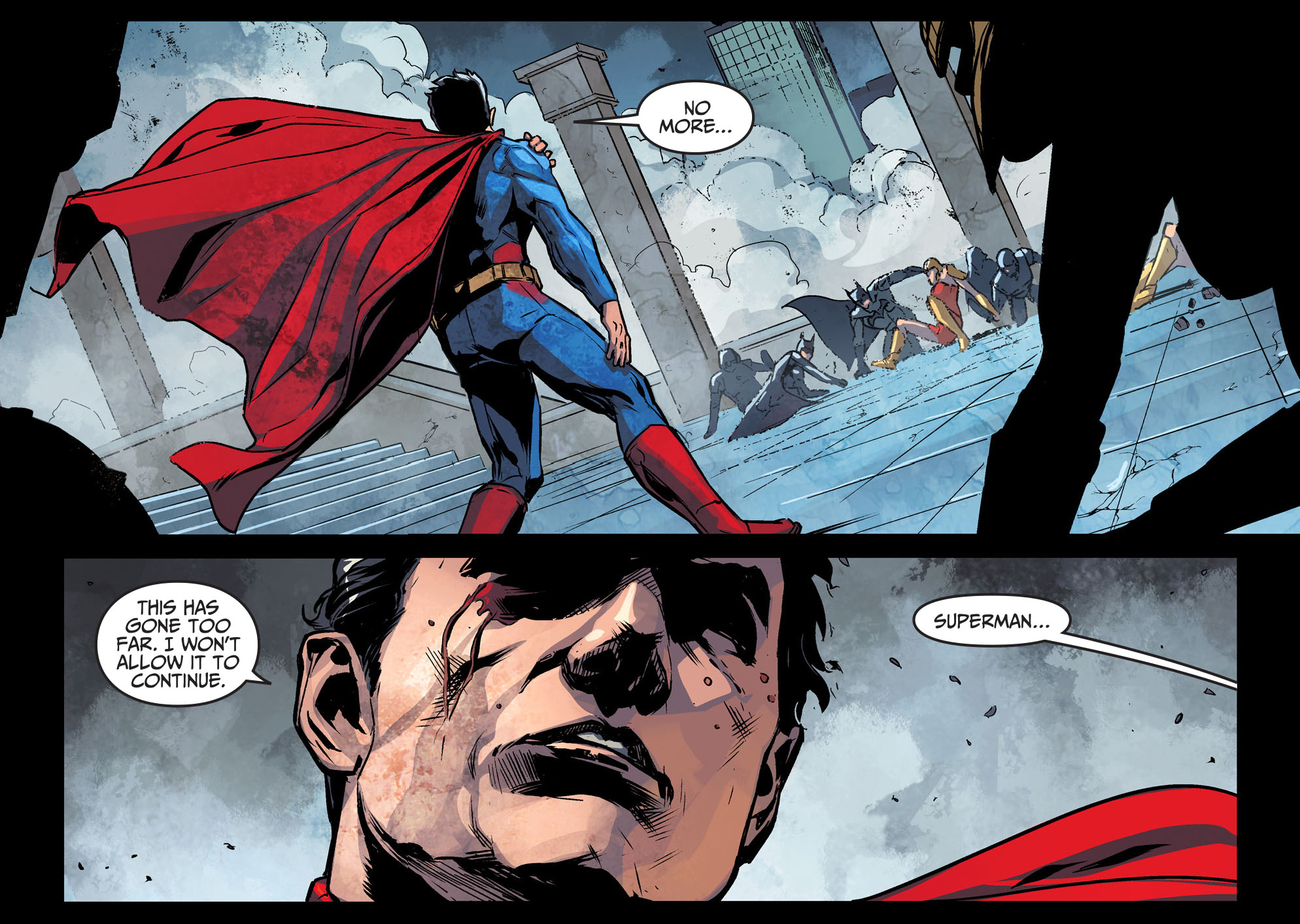 the gods of olympus challenges superman