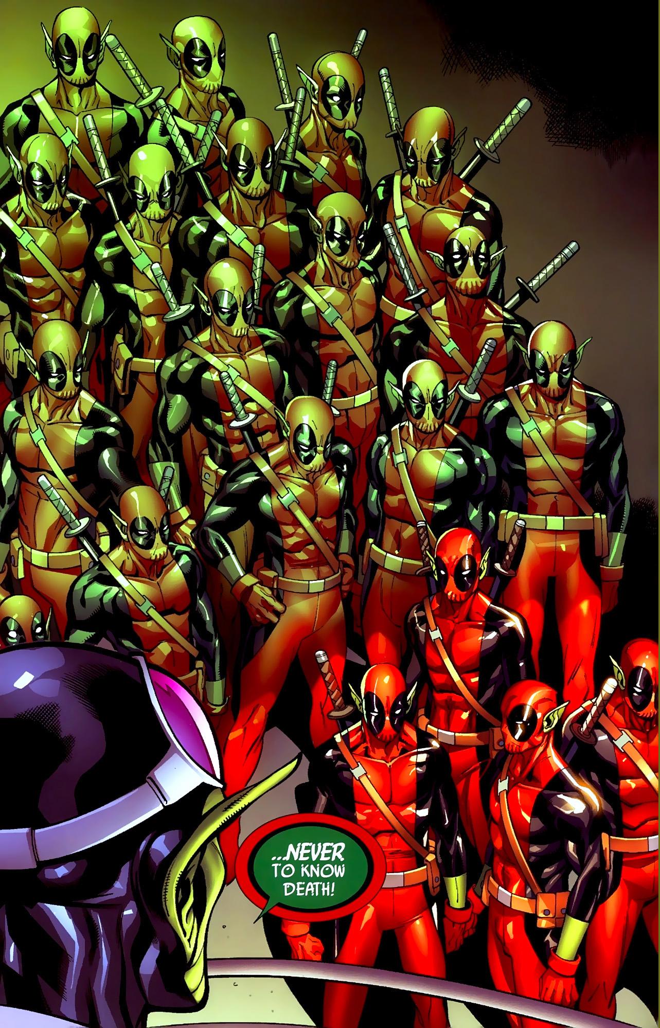 the skrulls create deadpool-type super-skrulls