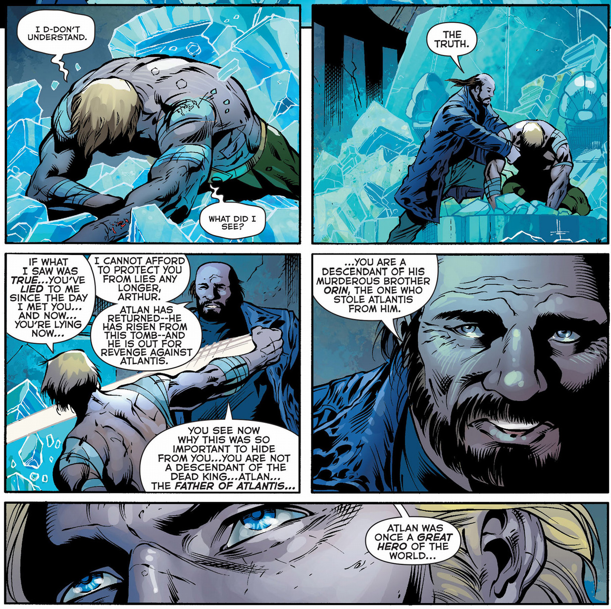 the truth about aquaman's ancestors