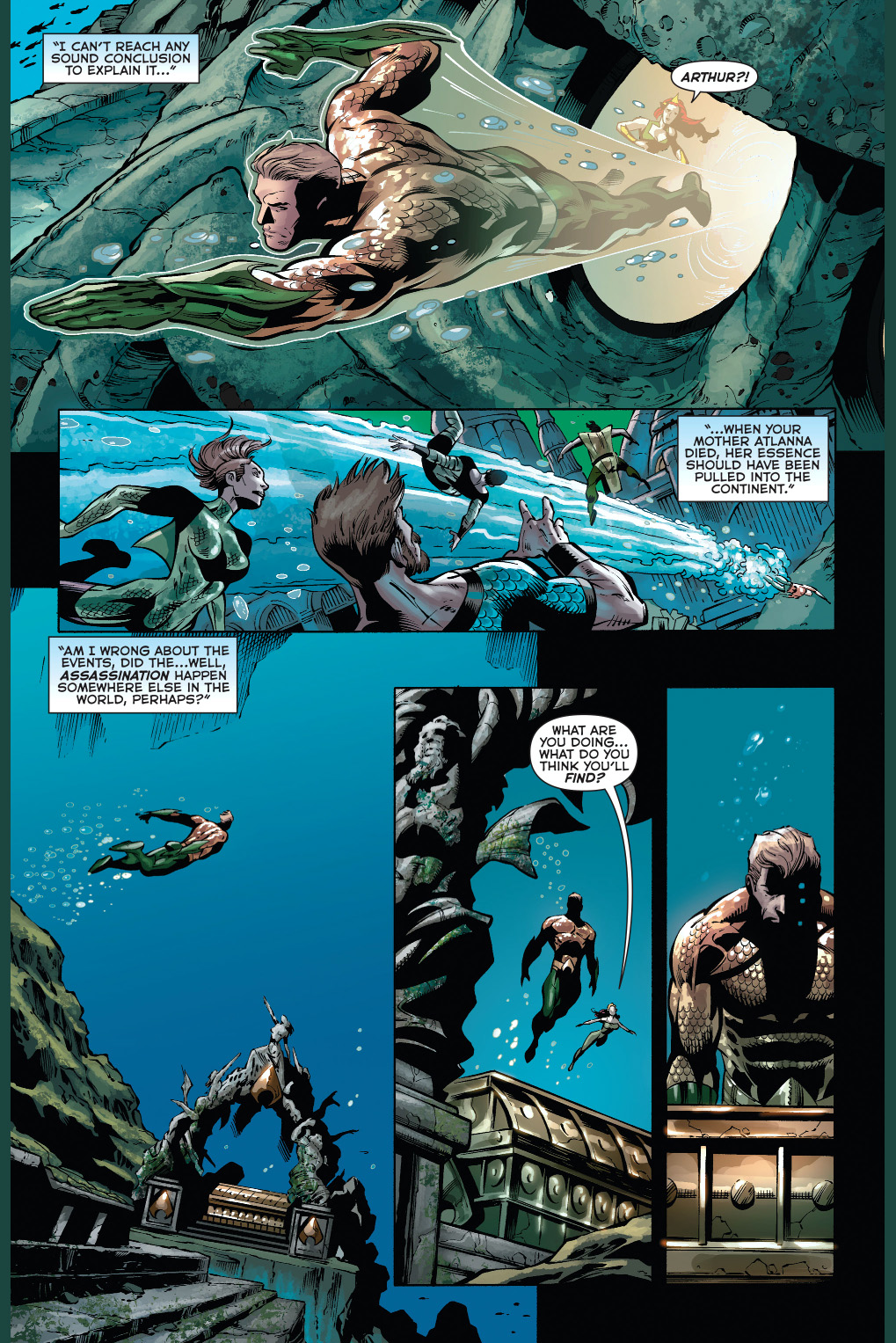 Why atlantis doesn't recognize aquaman as king