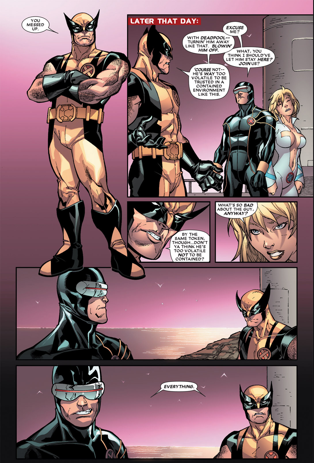why cyclops doesn't want deadpool