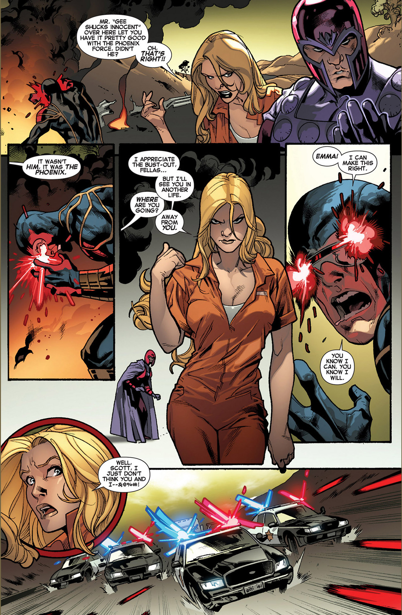 why cyclops, emma frost and magneto's powers are broken