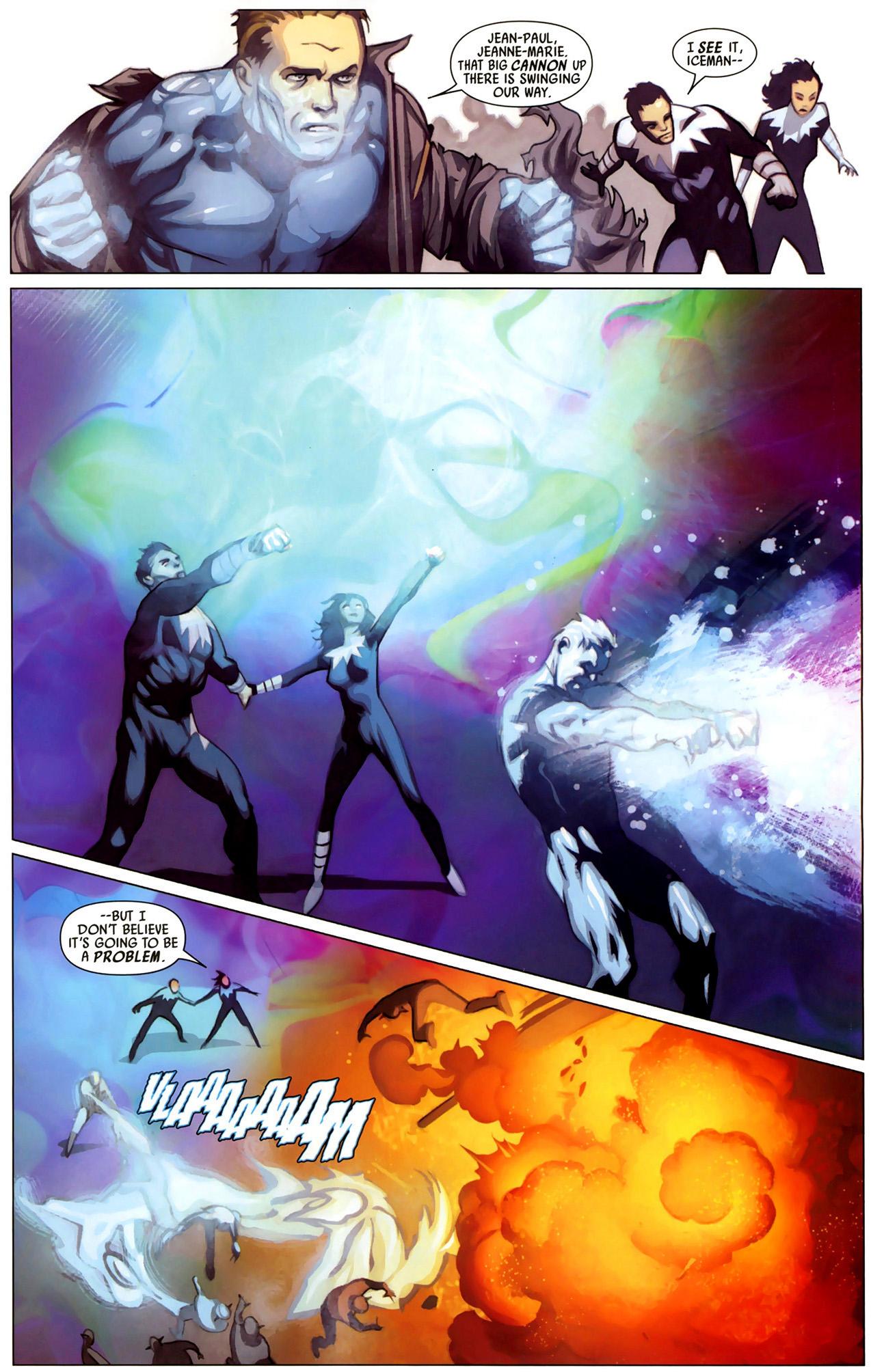 x-men uses guerilla tactics against the skrulls